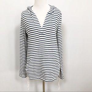 Roxy striped hoodie striped long sleeve top